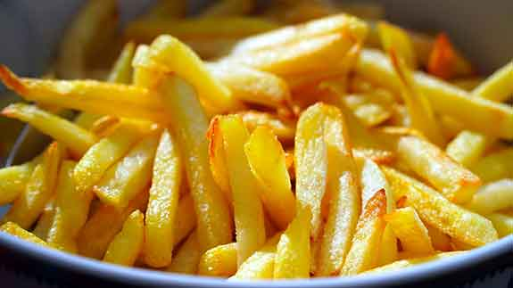 low carb substitutes for french fries